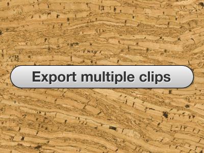 Sb export multiple