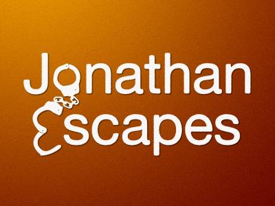 Jonathan Escapes (cuffs logo) handcuffs jonathan goodwin jonathan escapes one way out