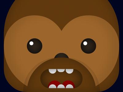 CSS3 Chewbacca!
