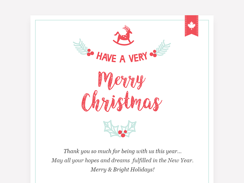 Happy New Year Email 81