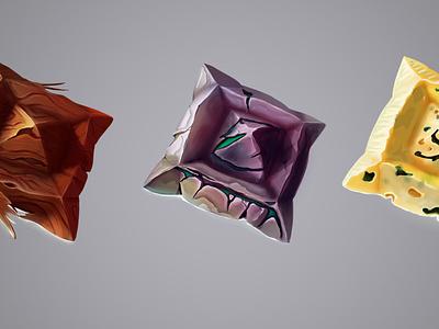 texture illustration props game art