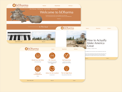bDharma.world website typography web logo graphic design design branding