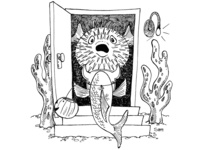 Inktober 25: Prickly
