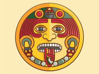 Aztec Sun Image