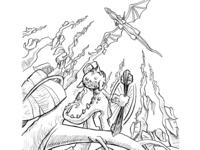 Inktober Chapter 19: Sling