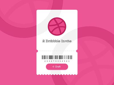 Dribbble Invite sketch design dribbble invitation dribbble invite dribbble invite