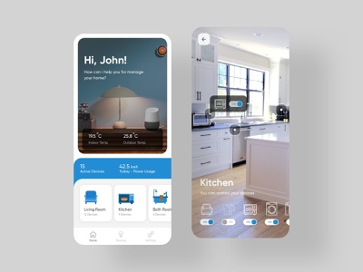 Smarty AR Mobile App ar design smart ux ui app iot smarthome