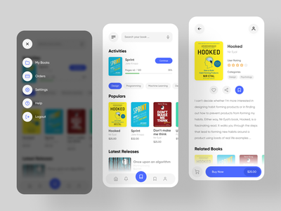 Rakuten Kobo - Online eBook Store book shop book store ebook book shop app ui application ui application app design app design ux ui