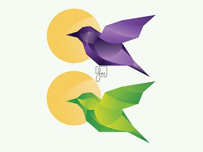 Latające niechodzące / logo logo branding vector illustrator minimal illustration flat design
