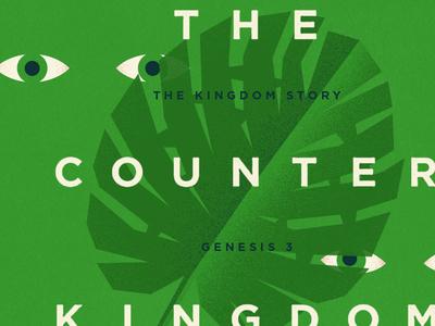 The Counter Kingdom monstera leaf eyes leaf