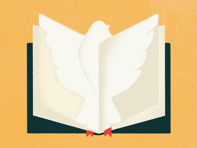 The Promised Spirit bird book bible dove