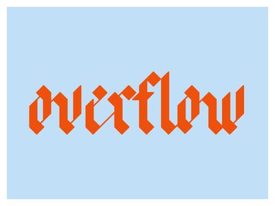 A Quirky Blackletter blackletter lettering