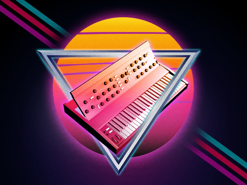 I'm Here. I Can't Believe it! music synth moog