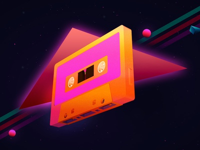 The Comeback Cassette callmecal cassette tape 3d