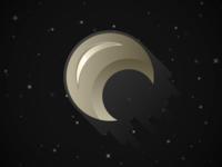 Lil' Gold Spacecraft
