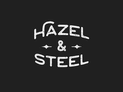 Hazel & Steel Logo retro vintage design identity logo vector concept