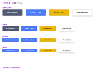 UI Kit - Buttons