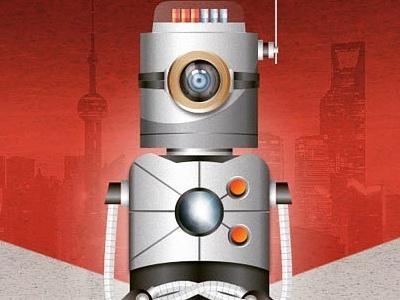 Robot illustrator robot vector