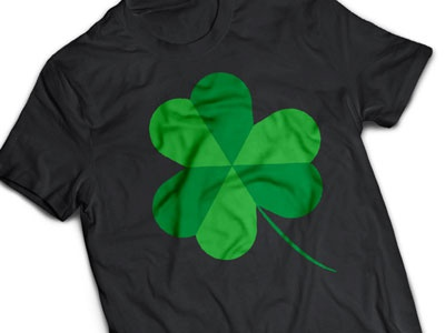 Lucky Clover - Shamrock st patricks day t-shirt shamrock three leaf clover