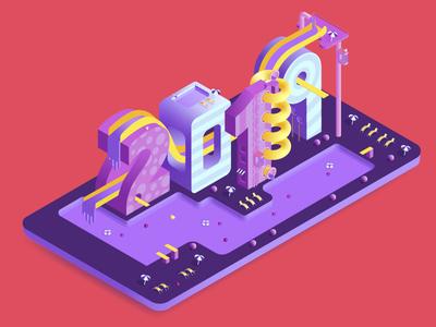 Isometric Illustration 2019