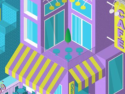 Isometric Buildings & Storefronts vectortwist 3d illustration design adobe illustrator cc vector illustrator isometric illustration isometric art isometric isometric design isometric storefront speed art adobe illustrator isometric store isometric house isometric building