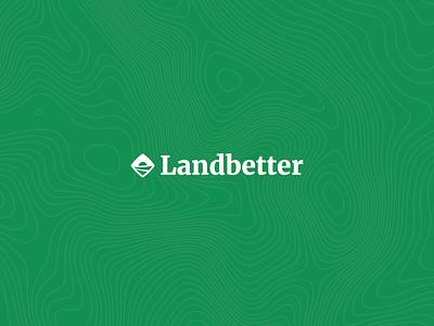 Landbetter Brand Design vector branding brand icon design modern logo