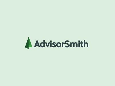 AdvisorSmith Logo Final icon sdvise advisor insurance green design material design logo