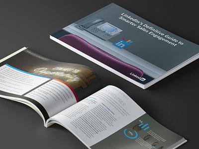 LinkedIn eBook Design linkedin sales content marketing layout content ebook