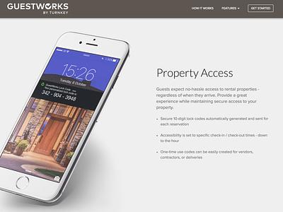 GuestWorks Website By TurnKey clean simple modern web design web website