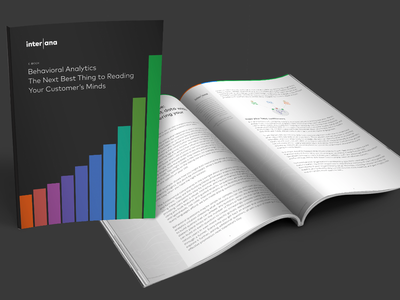 Interana eBook layouts layout collateral design collateral print design paper guide content marketing content ebook color chart