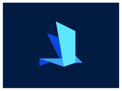 Origami Bird Logo