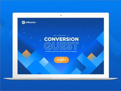 Conversion Quest unbounce conversion game marketing