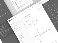 API Reference - Wireframes