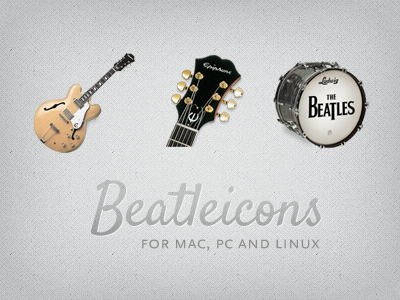 Beatleicons beatles icons mac pc linux desktop casino epiphone ludwig drumset tuning