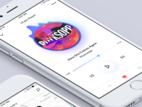 Discovery music app - Player
