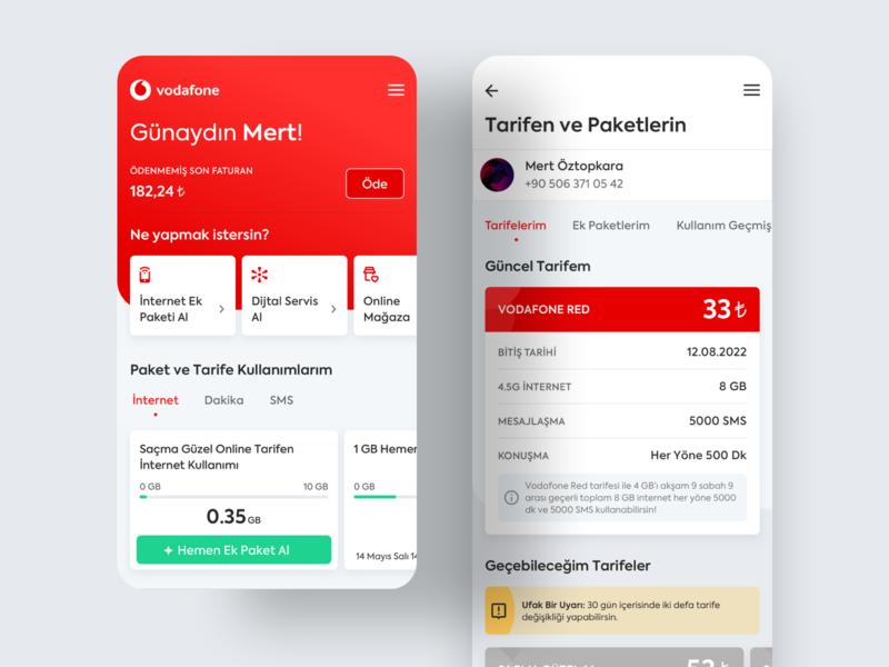 🥇Vodafone Designathon - Sales Journey design ios interaction card redesing app mobile ux ui vodafone designathon