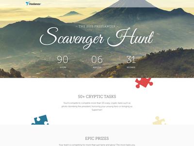 2015 Freelancer Scavenger Hunt