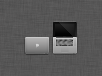 MacBook Pro psd