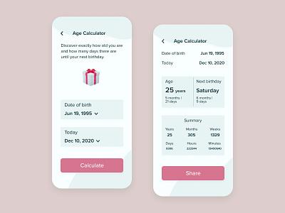 Daily UI Design #004 · Calculator application app design app ui uidesign illustration designer design art design dailyuichallenge daily ui dailyui