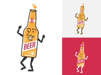 dancing beer guy