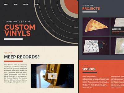 Meep Website Mockup web website design simple clean mockup @2x hidpi