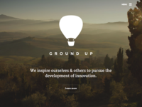 Ground Up Website