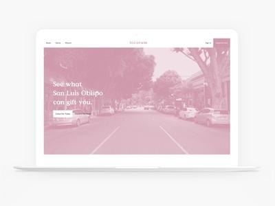 Locorum website