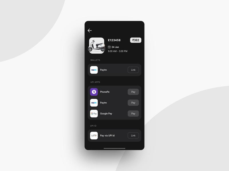 Payment section ( dark theme ) ux design ui design adobe xd app design iphone ios payment gateway darktheme banking payment branding interface mobile ui flat minimal uiux design