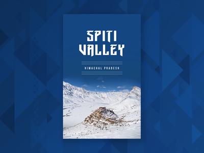 Travel poster 1 | Spiti Valley