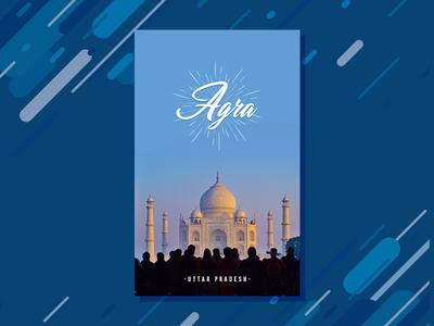 Travel poster 5 | Agra