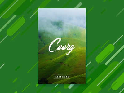 Travel poster 6 | Coorg