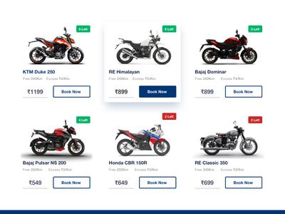 Bike Cards - Website