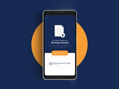 Upload Document - Mobile App