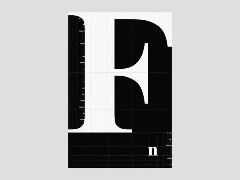 Phi ≈ 1.618 | poster | day 11 visual identity brand identity design branding art print black  white typography poster poster design experimental typography proportions grid layout grid nerd numbers goldenratio mathematics math sacredgeometry fibonacci